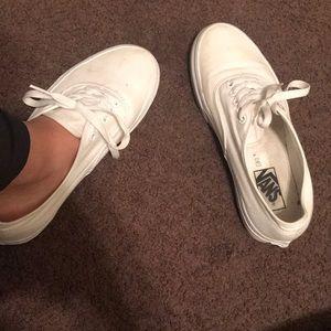 White vans 🌸